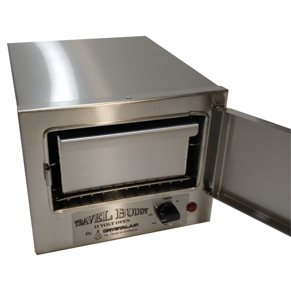 The Original Travel Buddy Oven Tray - 80mm deep in oven