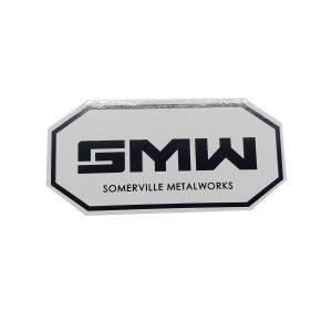 SMW024 - White Decal