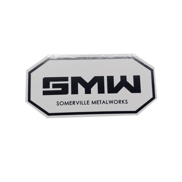 SMW024 - White Decal